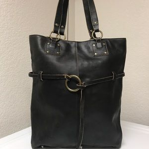 Hobo distressed tote/saddle bag